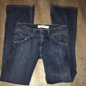 27 Hudson blue jean boot cut